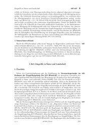 5.Teil: Eingriffe in Natur und Landschaft - Handbuch des öffentlichen ...