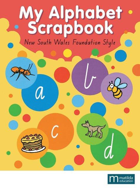 9780732979966 My Alphabet Scrapbook NSW