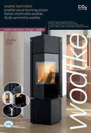wodtke Kaminöfen wodtke wood-burning stoves Poêles-cheminées ...