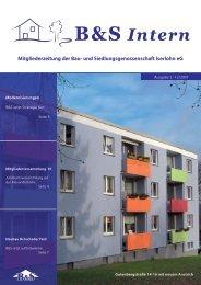 B&S Intern - Bau- und Siedlungsgenossenschaft Iserlohn eG