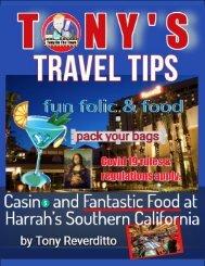 Tony's Travel Tips