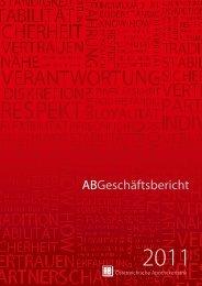 Geschäftsbericht 2011 - Österreichische Apothekerbank