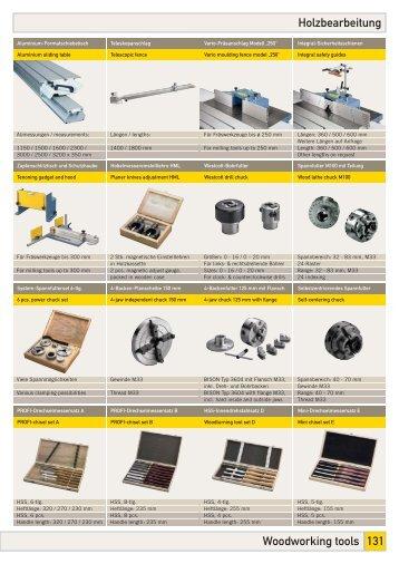 Woodworking tools 131 Holzbearbeitung - Bernardo
