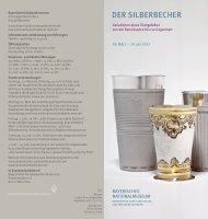 Flyer zur Ausstellung (PDF) - Bayerisches Nationalmuseum