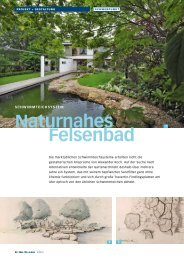 Felsenbad - Koch+Koch Garten- und LandschaftsArchitekten