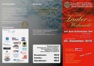 """Der Reinerlös geht an die """"Frühförderung Bottrop eV"""" - Rotary Club ..."""