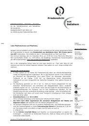 Infobrief zu Friedenslicht & Wienfahrt - VCP - Verband Christlicher ...