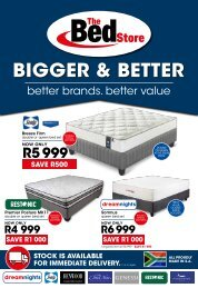 The Bed Store September 2020 Catalogue