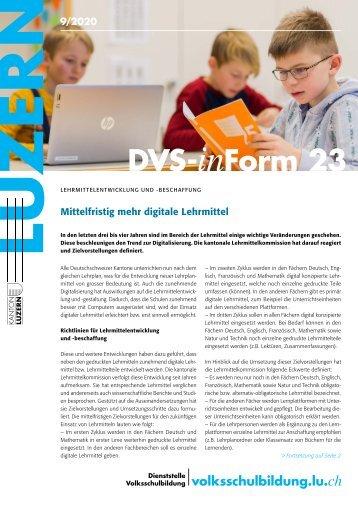 DVS-inForm September 2020