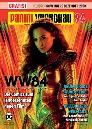 Panini Vorschau 94: Neuheiten November/Dezember 2020