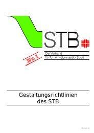 Gestaltungsrichtlinien des STB - Schwäbischer Turnerbund