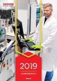 DKMS Jahresbericht 2019