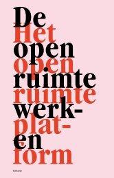 De open ruimte werken