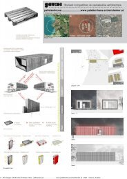 Gaudi Competition project - Pils Gregor & Schnetzer Andreas Claus ...