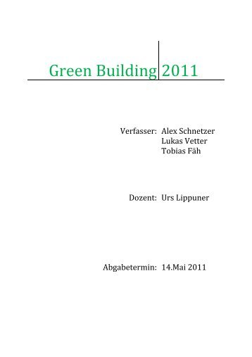 Green Building 2011