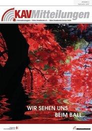 WIR SEHEN UNS BEIM BALL... - Kölner Anwaltverein e.V. ...