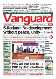 22092020 - S-Kaduna: No development without peace, unity— BUHARI