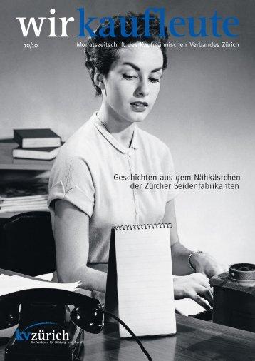 wirkaufleute - Kaufmännische Verband Zürich