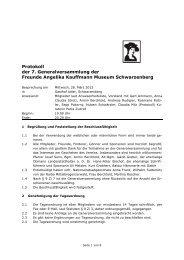 Protokoll 2012 - Angelika Kauffmann Museum
