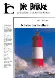 April-Mai 2009 - Lutherisch in Nordhorn