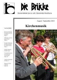August-September 2010 - Lutherisch in Nordhorn