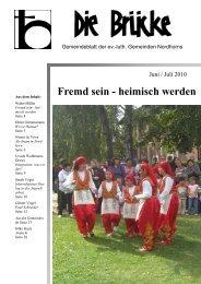 Fremd sein - heimisch werden - Lutherisch in Nordhorn