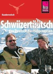 Schwiizertüütsch - Reise Know-How