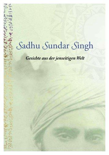 Sadhu Sundar Singh - geistiges licht