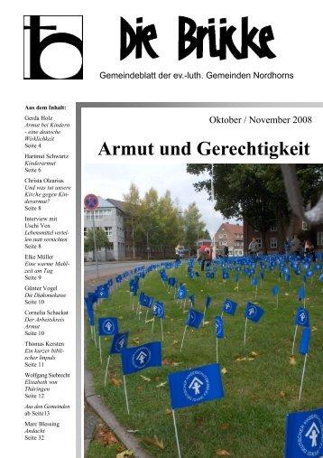 Oktober-November 2008 - Lutherisch in Nordhorn