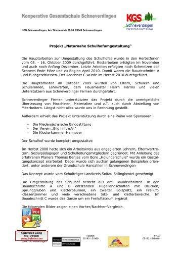 Eine Dokumentation - KGS Schneverdingen