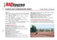 durch die lüneburger heide - Radtouren Magazin