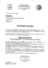 Gemeindeamt St. Ulrich bei Steyr