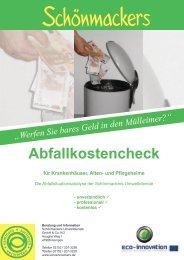 Abfallkostencheck - Schönmackers Umweltdienste GmbH & Co KG