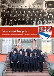 Grußwort des Hilfstransport - Freiwillige Feuerwehr Nieder-Erlenbach