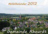 Abfallkalender 2012, (3.1416015625 MB ) - Rheurdt
