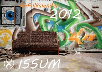 Abfallkalender 2012 - nicht barrierefreie Version - 3 KB - Issum