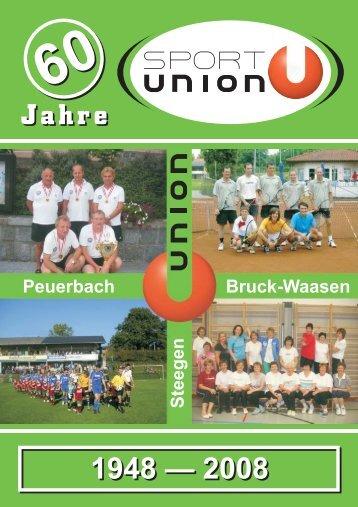 Festschrift - SPORTUNION Österreich