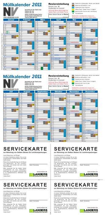 servicekarte - Städtereinigung Gerke