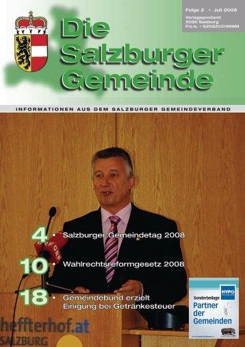 Die Salzburger Gemeinde Die Salzburger Gemeinde - Kommunalnet