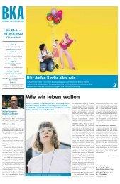 Berner Kulturagenda N°33