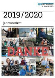 VDV Jahresbericht 2019/2020