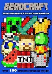 Online Book Beadcraft: The Ultimate Minecraft-themed Fusion Bead Pattern