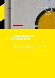 Reactienota Zienswijzen - Montesquieu Instituut