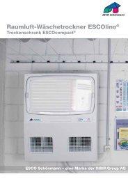 Raumluft-Wäschetrockner ESCOlino® - Sibir
