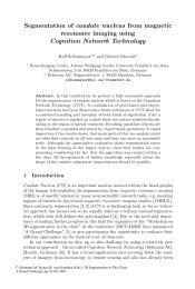 Segmentation of caudate nucleus from magnetic resonance ... - DKfZ