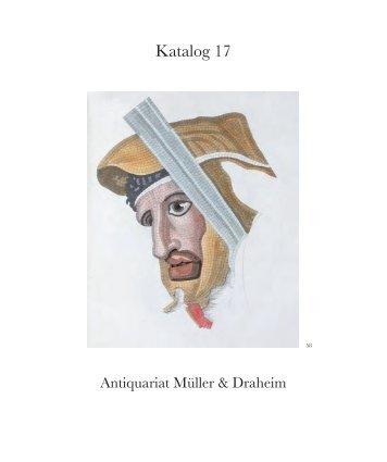 Katalog 17 - Antiquariat Müller & Draheim