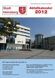 Abfallkalender 2012 - Karken