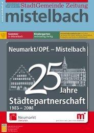 Städtepartnerschaft - Mistelbach