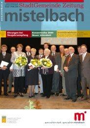Gemeindezeitung 2009/1 (3,20 MB) - Mistelbach