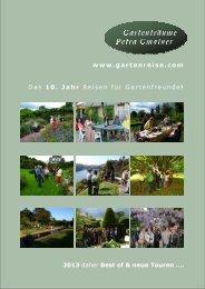 Gartenreisen 2013 - im Gartentraum von Petra Gmainer